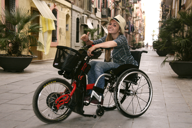handbike-wheelchair